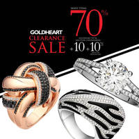 Read more about GoldHeart Clearance Sale 24 - 28 Mar 2016