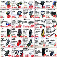 Read more about Golf Direct March Super Sale 4 - 27 Mar 2016