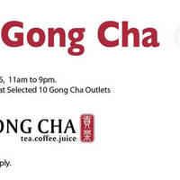 Read more about Gong Cha Free Drink Giveaway @ 10 Outlets 1 - 15 Apr 2016