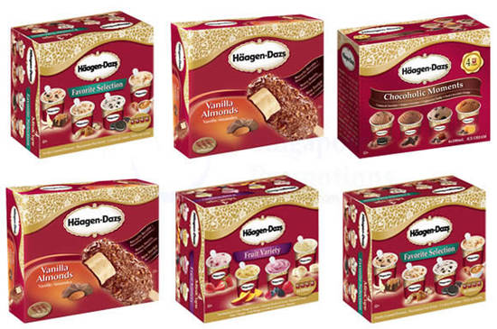 HAAGEN DAZS Multi Pack Ice Cream Feat