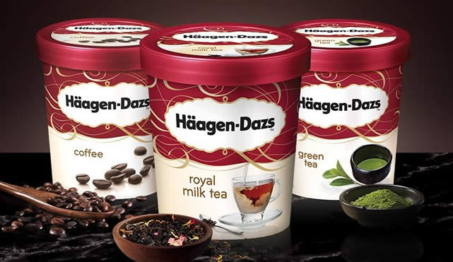 Haagen-Dazs Ice Cream Tubs Pints 17 Mar 2016