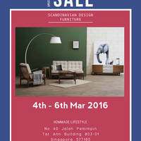 Read more about Hommage Lifestyle Furniture & Mattress Warehouse Sale 4 - 6 Mar 2016
