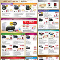 Read more about Canon Laser & Inkjet Printers & Scanners Offers 23 Mar - 31 May 2016