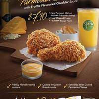 Read more about KFC New Parmesan Chicken From 21 Mar 2016