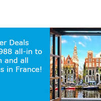 Read more about KLM fr $988 Amsterdam, Paris & More 5-Day Easter Fares Sale 24 - 28 Mar 2016