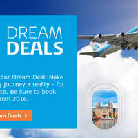 Read more about KLM fr $919 all-in Promo Fares 9 - 16 Mar 2016