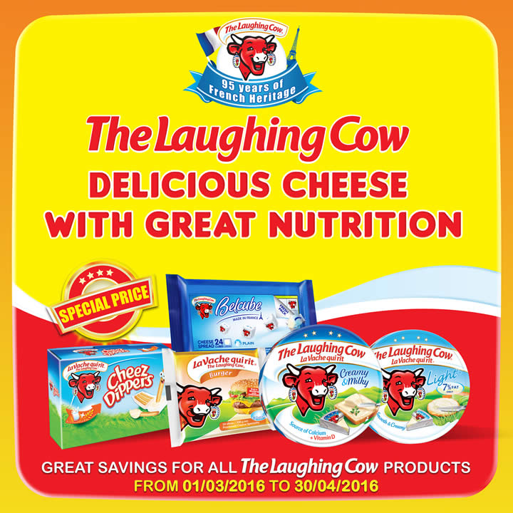 Laughing Cow Feat 1 Mar 2016