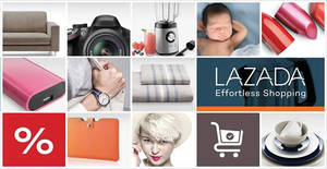 Lazada: 16% OFF coupon code for new customers valid from 12 – 14 Dec 2017