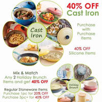 Read more about Le Creuset Spring Sale @ Ngee Ann City 16 - 29 Mar 2016