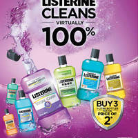 Read more about Listerine Buy 2 Get 1 Free Promo From 3 Mar 2016