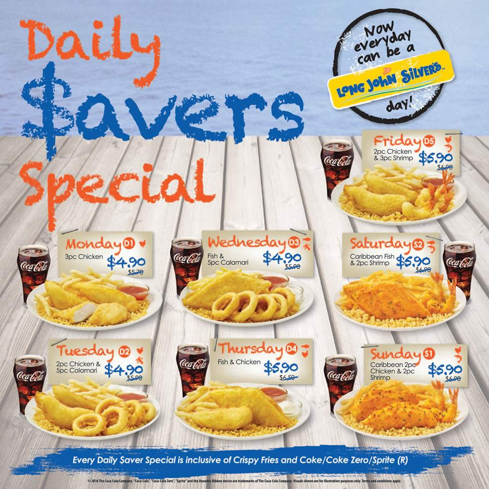graphic about Long John Silver's Printable Coupons known as Very long johm silvers - Stickers discounted
