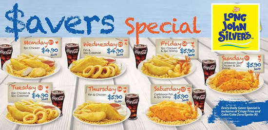 Long John Silvers Feat 16 Mar 2016