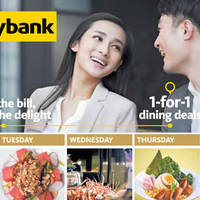 Read more about Maybank 1-for-1 Dining Deals & Treats From 1 Apr - 30 Dec 2016