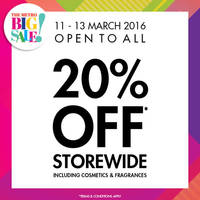 Read more about Metro 20% Off Storewide Promotion 11 - 13 Mar 2016