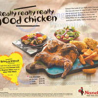 Read more about Nando's 50% Off 2nd Chicken Set Meal Coupon 11 - 24 Mar 2016