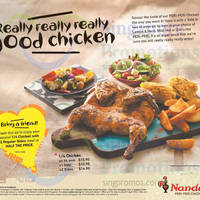 Read more about Nando's 50% Off 2nd Chicken Set Meal Coupon 25 Mar - 3 Apr 2016