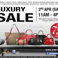 Read more about Nimeshop Branded Handbags Sale @ Mandarin Orchard 2 Apr 2016