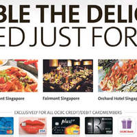 Read more about OCBC 1-for-1 Dining Deals & Treats From 11 Mar - 30 Apr 2016