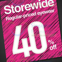 Read more about Optical 88 40% Off Storewide 1-Day Promo @ Marina Square 2 Apr 2016