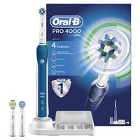 Read more about Oral-B 68% Off Pro 4000 CrossAction Electric Rechargeable Toothbrush 24hr Deal 18 - 19 Mar 2016