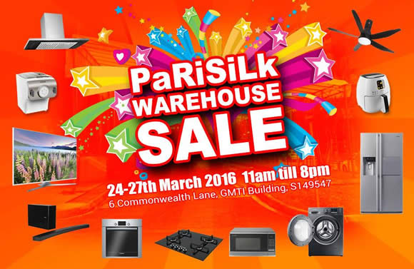 Parisilk Warehouse Clearance Feat 24 Mar 2016