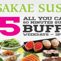 Read more about Sakae Sushi $15 All-You-Can-Eat Buffet @ 21 Outlets From 7 Mar 2016