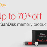 Read more about SanDisk Up To 70% Off Memory Products 24hr Promo 14 - 15 Mar 2016