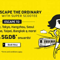Read more about Scoot fr $6* 2hr Take Off Tuesday Promo (7am to 9am) 8 Mar 2016