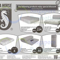 Read more about Sea Horse 50% to 60% OFF Promo Offers 2 - 14 Mar 2016