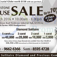 Read more about Siang Hoa Jewellery Diamond & Gemstone Clearance Sale 17 - 20 Mar 2016