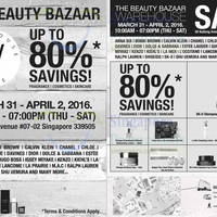 Read more about Simex Asia Pacific Beauty Bazaar Warehouse Sale 31 Mar - 2 Apr 2016