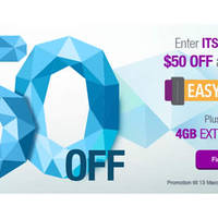 Read more about Singtel $50 Off All Phones with Easy Mobile 10 - 18 Mar 2016