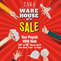 Read more about Taka Jewellery Warehouse Sale @ Toa Payoh HDB Hub 24 - 28 Mar 2016