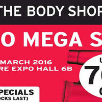 Read more about The Body Shop Mega Sale @ Singapore Expo 24 - 27 Mar 2016