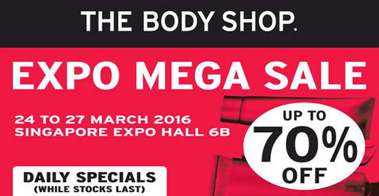 The Body Shop Feat 24 Mar 2016
