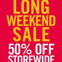 Read more about The Paper Stone 50% Off Storewide Sale @ All Outlets 25 - 27 Mar 2016