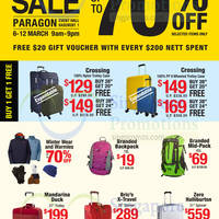 Read more about Planet Traveller Travel Goods Sale @ Paragon 6 - 12 Mar 2016
