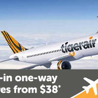 Read more about TigerAir fr $38 all-in Promo Fares 22 - 27 Mar 2016