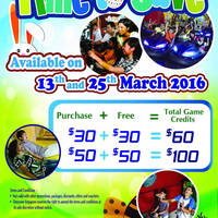 Read more about Timezone 100% Extra Double Dollar Promo 25 Mar 2016