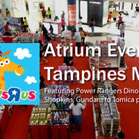 """Read more about Toys """"R"""" Us Atrium Event @ Tampines Mall 2 - 8 Mar 2016"""