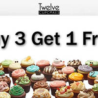 Read more about Twelve Cupcakes Buy 3 Get 1 FREE Promo 14 - 20 Mar 2016
