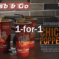 Read more about Wing Zone 1-for-1 Chicky Poppers Promo 16 - 31 Mar 2016