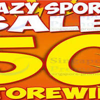 Read more about World Of Sports 50% Off Storewide Sale @ Selected Outlets 4 - 13 Mar 2016