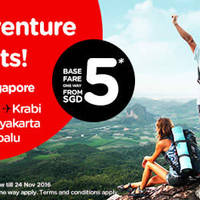Read more about Air Asia fr $5 Promo Fares 11 - 17 Apr 2016