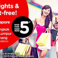 Read more about Air Asia fr $5* Promo Fares from 25 Apr - 1 May 2016