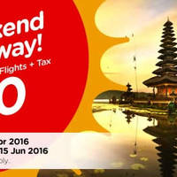 Read more about Air Asia Go 3D2N fr $90/pax (Hotel, Flights & Taxes) 11 - 24 Apr 2016