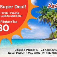 Read more about Air Asia Go 3D2N fr $80/pax (Hotel, Flights & Taxes) from 18 - 24 Apr 2016