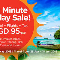 Read more about Air Asia Go 3D2N fr $95/pax (Hotel + Flights + Taxes) from 25 Apr - 1 May 2016