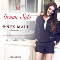 Read more about Bega Atrium Sale @ NEX Mall 11 - 17 Apr 2016