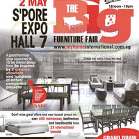 Read more about Big Furniture Fair 2016 at Expo from 23 Apr - 2 May 2016